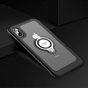 Phone Accessories - Anti Drop Shockproof Magnetic Case For iPhone X XR XS Max