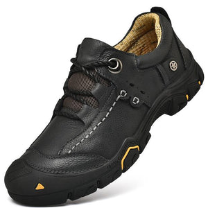 Men Top Quality Genuine Leather Outdoor Hiking Shoes