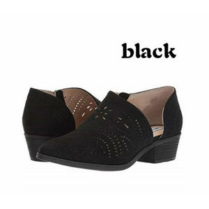 Women Hollow out Zipper Shoes