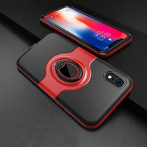 Luxury TPU Ring Buckle Phone Case for iPhone X/XR/XS Max