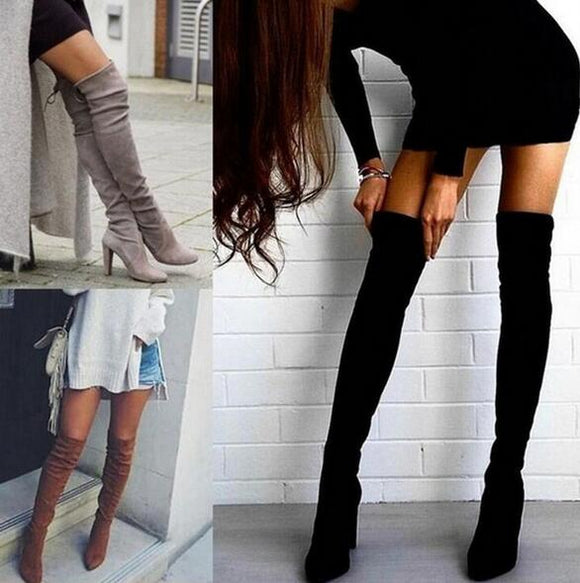 Shoes - New Women's Over Knee High Boot