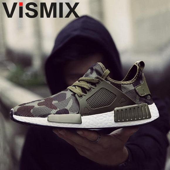 Military Camouflage Men Casual Shoes