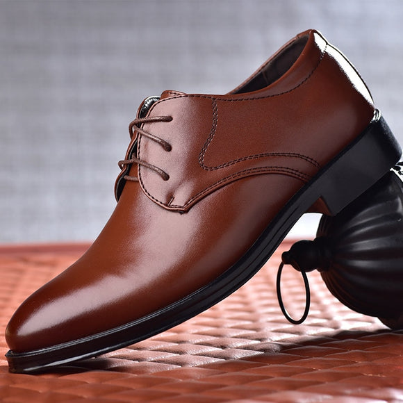 Kaaum High Quality Business Shoes Men's Oxford Shoes