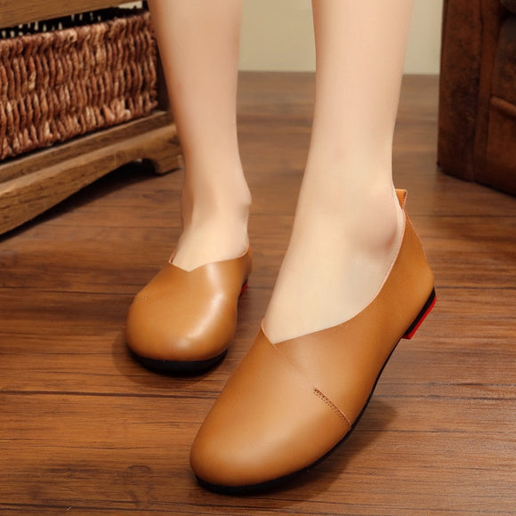 Plus Size Women's Flat Single Shoes