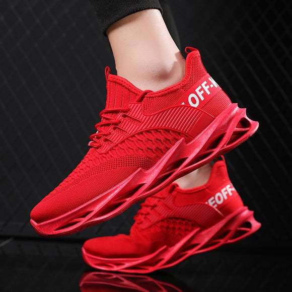 Men's Breathable Flying Woven Sneakers