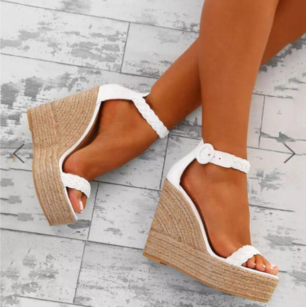 Shoes - 2019 New Fashion Women Sexy Wedge Sandals