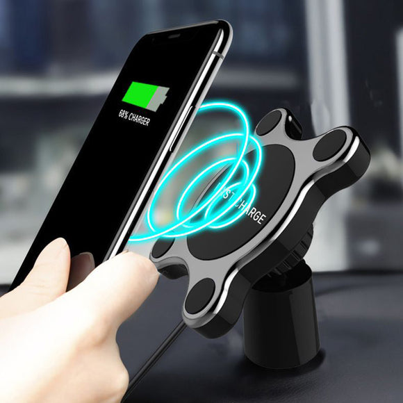 Magnetic Car Phone Wireless Charger Dashboard