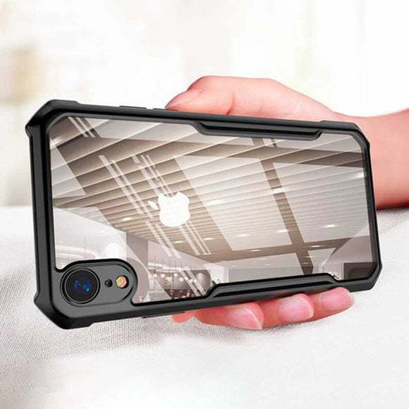 Phone Case - Luxury Ultra Thin Hybrid Clear Acrylic & Soft TPU Edge Protective Phone Case For iPhone XS/XR/XS Max 8/7 Plus