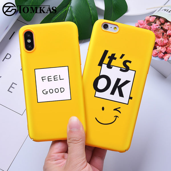 hot sale online fb1f8 70f8a Yellow Cute Case For iPhone X XS XR 8 7 10 6S Plus