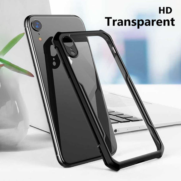 Phone Accessories - Shockproof Armor Transparent CaseCase For iPhone