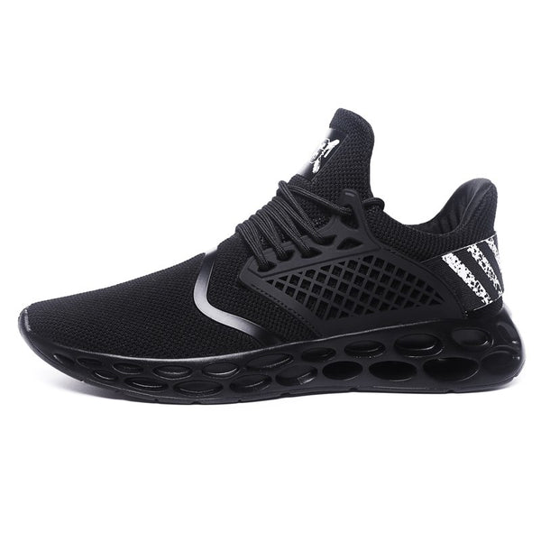2018 New Hollow Sole Breathable Jogging Sneakers