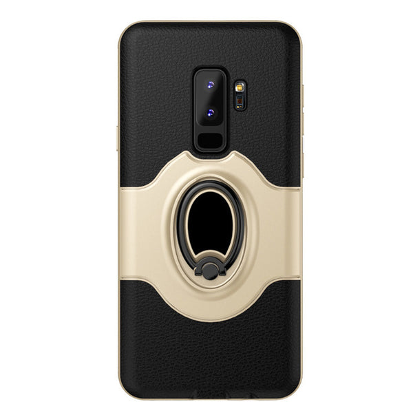 Phone Case - Luxury Ring Bracket Silicone Toraise Case For Samsung Galaxy S9 S9 Plus
