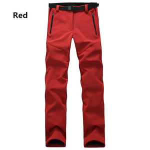 Women's Clothing - Winter Thick Warm Fleece Softshell Pants