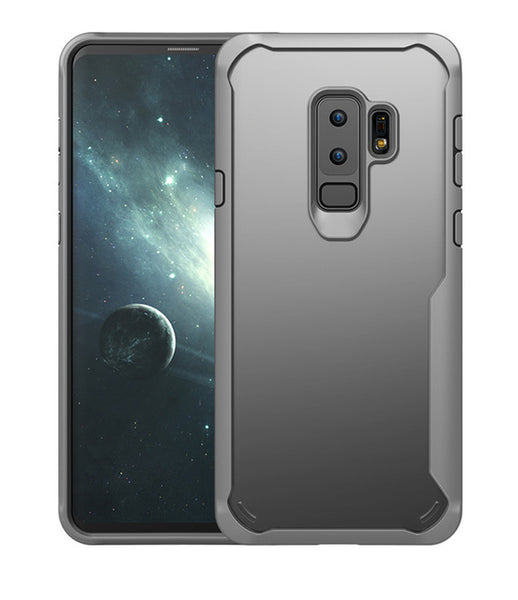 Phone Case - Luxury Double Protection Clear Acrylic & Soft TPU Shockproof Phone Case For Samsung Galaxy Note9/8 S9/S8 Plus