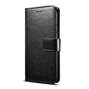 Phone Case - Luxury PU Leather Flip Wallet Card Slots Phone Case For iPhone X/XS/XR/XS Max 8/7 Plus