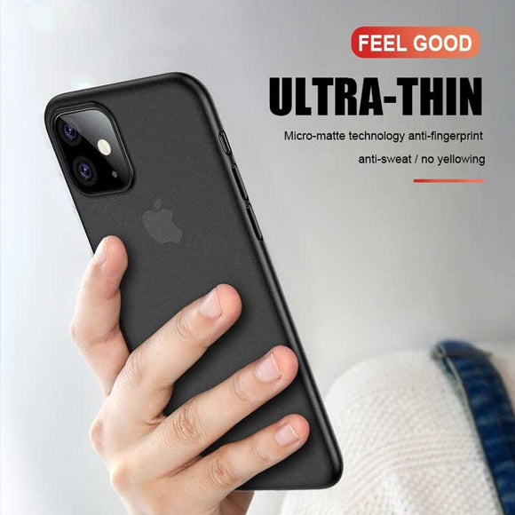 Kaaum Ultra Thin Transparent Slim Cover For iPhone