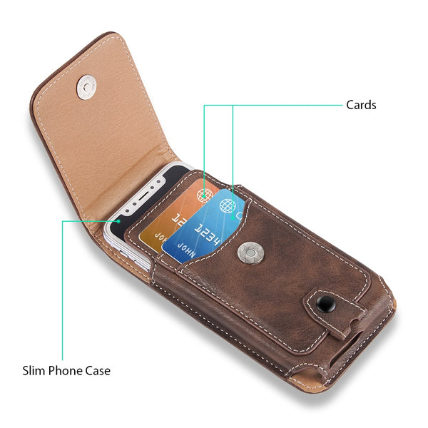 Phone Accessories - Universal Waist Bag Magnetic Holster Belt Clip Phone Case