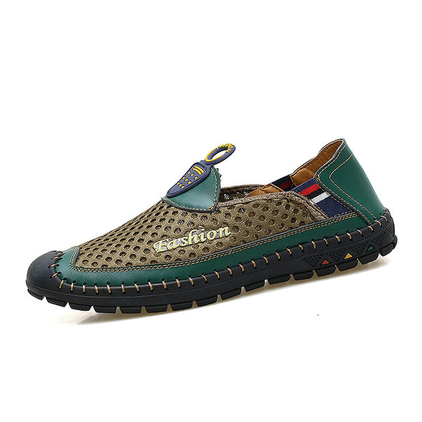 8c69e65986c3 Shoes - Summer Mesh New Slip On Men s Loafer Casual Shoes – Kaaum