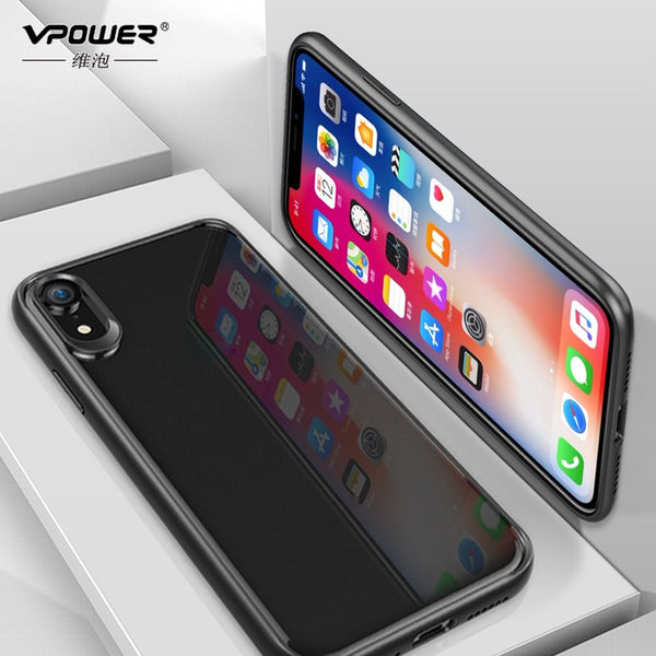 Phone Case - Luxury Full Protective Clear PC & Soft TPU Phone Case For iPhone XS/XR/XS Max