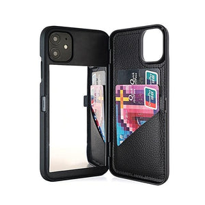 Wallet Mirror Case for iPhone
