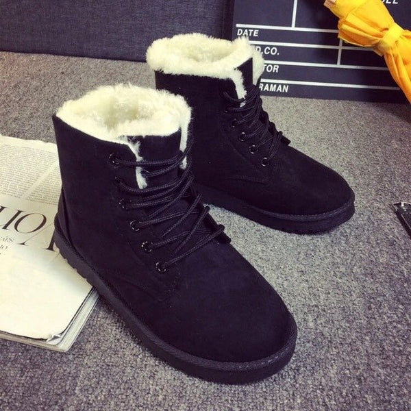 new Cute Comfortable Warm Snow Boots