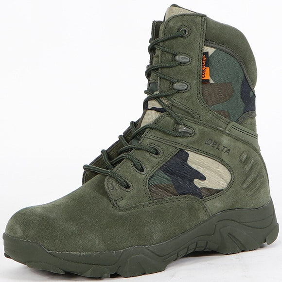 Men Tactical Military Special Force Waterproof Leather Shoes(BUY 2 GET 10% OFF, 3 GET 15% OFF)
