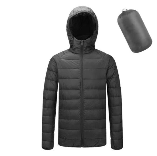 Kaaum Men's Light Thin Cotton-padded Jacket