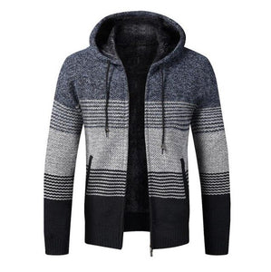 Kaaum Men's Casual Patchwork Coats Jacket