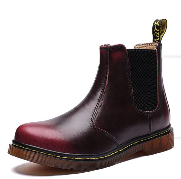 Men's Boots -  Genuine Leather Chelsea Boots