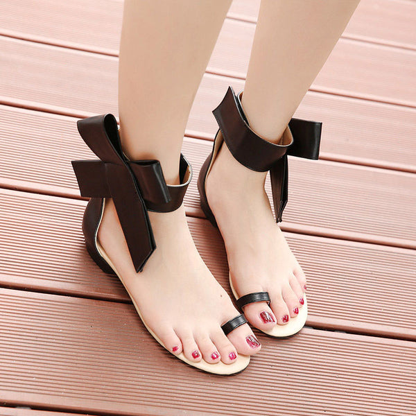 Shoes - Sexy Fashion New Big Bow Tie Women Shoes