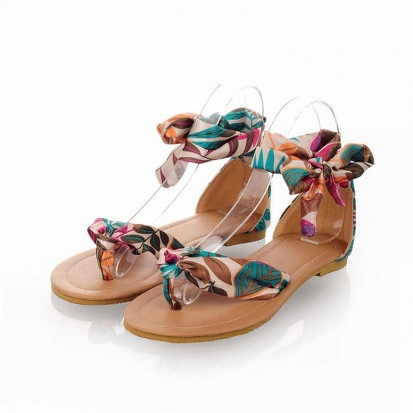 Casual Ankle Strap Flat Beach Sandals