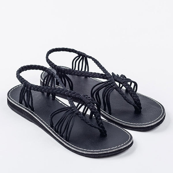 Sandals - 2018 New Fashion Comfortable Women Flat Bandages Sandals
