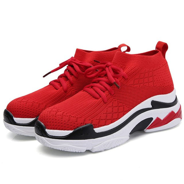 Shoes - 2018 Women's Breathable Knit Sport Shoes