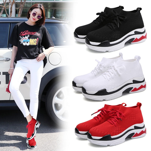 Shoes - Women Summer Autumn Jogging Walking Sneakers