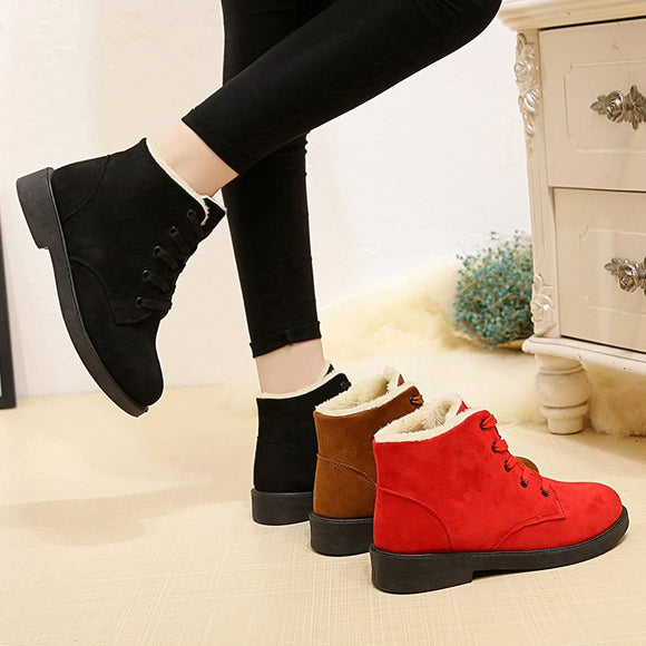 Shoes -  2018 Classic Suede Women Snow Boots