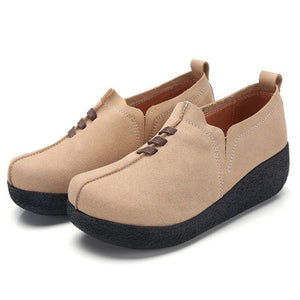 Women's Shoes - Fashion Round Toe Casual Flat Shoes