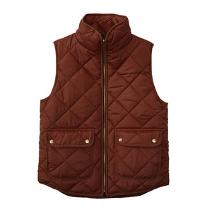 Vest - Sleeveless Pockets Waistcoat  ( Extra Discount:Buy 2 Get 10% OFF, 3 Get 20% OFF )