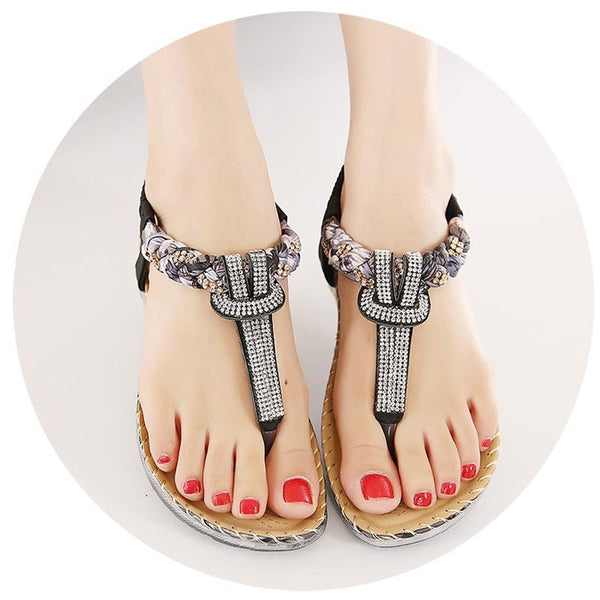 Sandal - 2018 New Summer Bohemian Diamond Women's Sandals