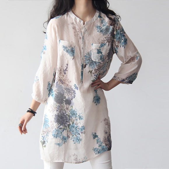 Women's Floral Printed Blouses