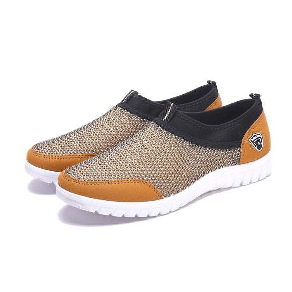Summer Breathable Mesh Casual Shoes For Men