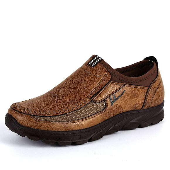Men New Trademark Upscale Casual Leather Shoes(BUY 2 GET 10% OFF, 3 GET 15% OFF)