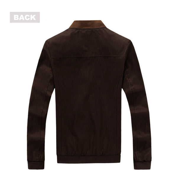 Plus Size Fashion Men All Season Cotton Jacket