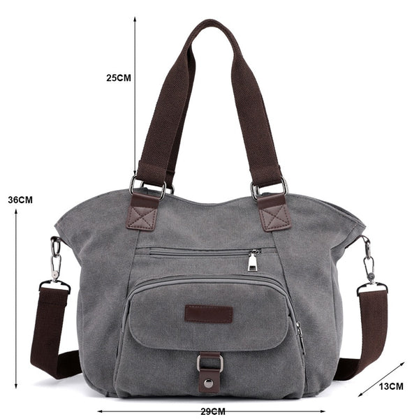 Bag -  Hot Sale Fashion Large Capacity Messenger Bags Handbag (Buy 2 Get10% OFF, Buy 3 Get 15% OFF)