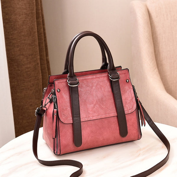 Fashion PU Leather Large Capacity Tote Bags