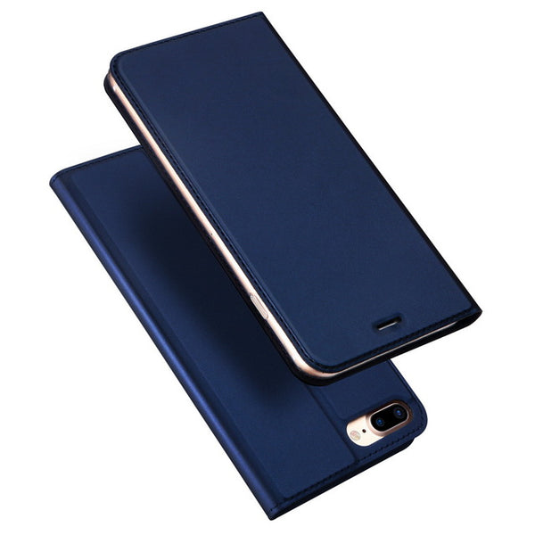 Luxury Book Flip Wallet PU Leather Case For iPhone