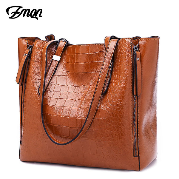 Bags & Wallets - Luxury Designer Large Leather Handbag For Women