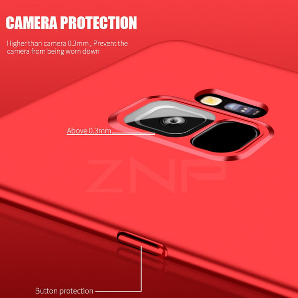 360 Degree Protection Phone Case For Samsung Galaxy S7 Edge S9 S8 Plus Note 8