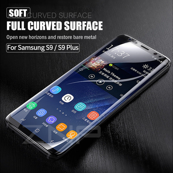 Soft Full Screen Protector For Samsung Galaxy S8 S8 Plus S9 S9 Plus Note 8 (Not Glass)