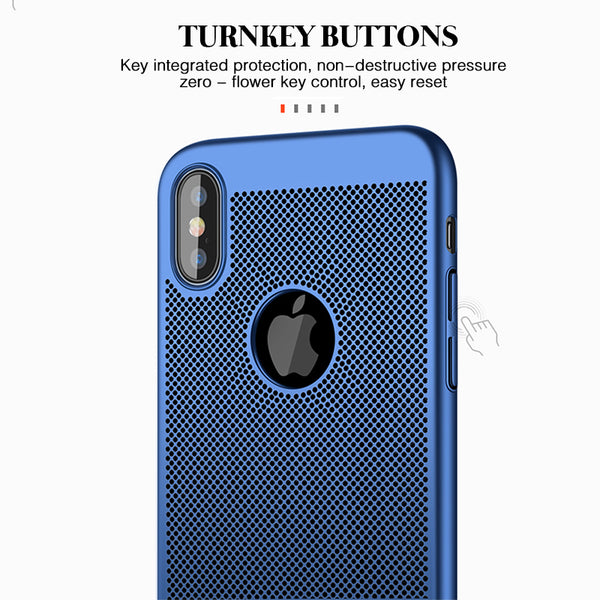 Phone Case - Heat Dissipation Design Anti-Scratch Anti-fingerprint Shockproof Slim Phone Case