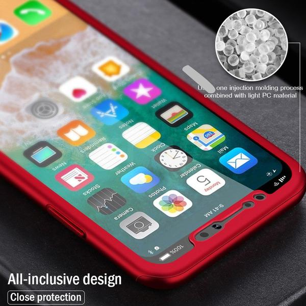Phone Case - Luxury 360 Full Coverage Protective Phone Case With Free Screen Film For iPhone XS/XR/XS Max(Buy 2 Get 10% off, 3 Get 15% off)